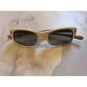 Stussy White Micheal Rectangle Sunglasses Shades